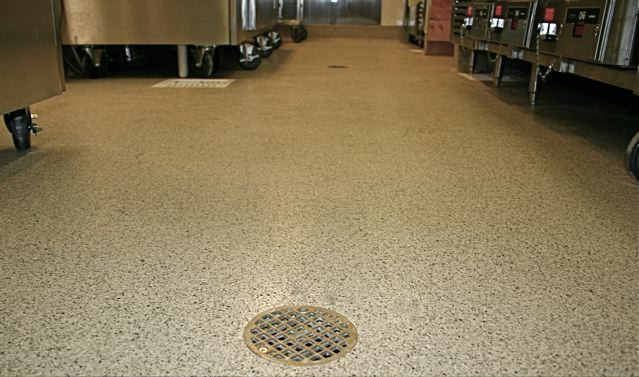 Getting a better understanding on broadcast and troweled quartz industrial flooring systems t - Flooring for restaurant kitchens ...