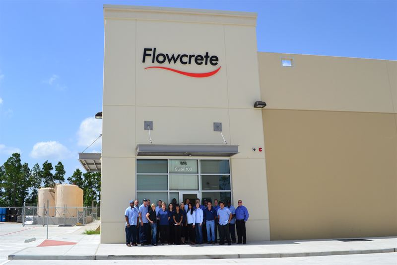 Flowcrete Americas opens a new 30,000 square foot facility to meet its manufacturing demands!