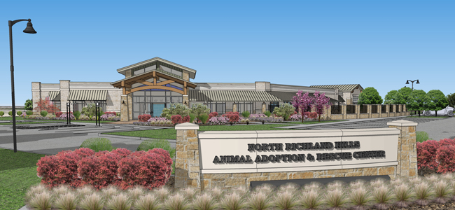 T.W. Hicks, Inc. provided the flooring needed for the new North Richland Hills Animal Adoption and Rescue Center!