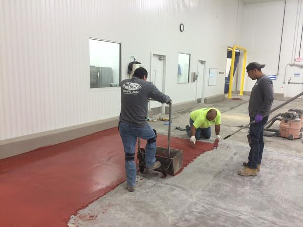 T.W. Hicks, Inc. has Resinous Flooring Experts Covering North and South Texas with Your Resin Flooring Needs!