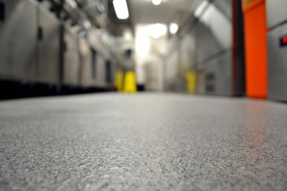 The Many Faces of Resin Flooring Solutions from T.W. Hicks, Inc.