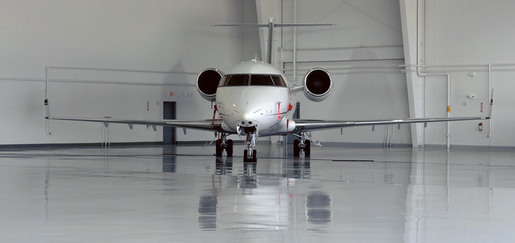 T.W. Hicks specializes in all types of industrial flooring, including manufacturing flooring, decorative flooring, and even airport hangar flooring!