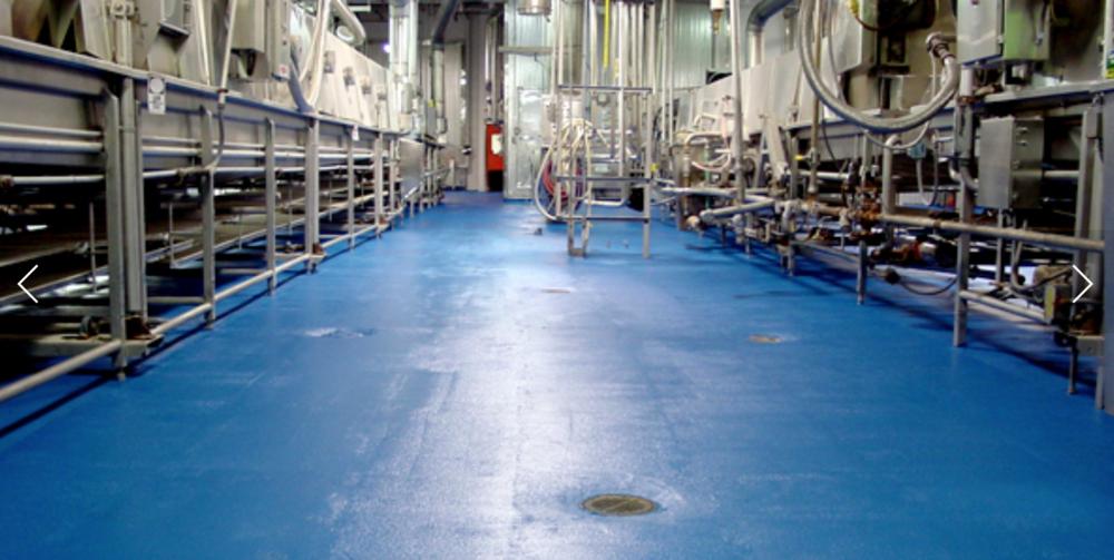 food-grade flooring in Texas T.W. Hicks Inc.