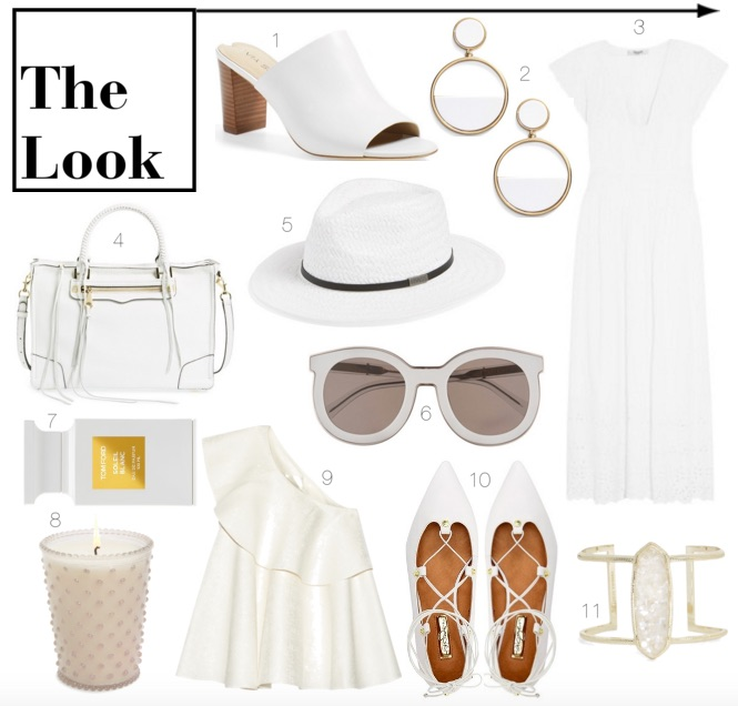 White outfits for summer || Polished Closets
