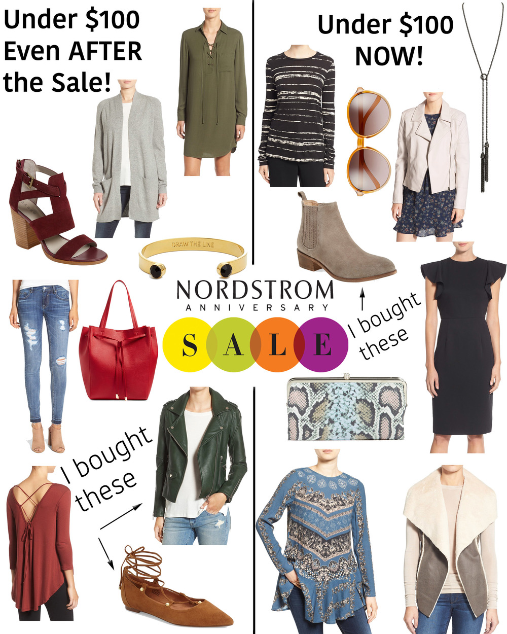 the best of the nordstrom sale 2016 under $100 || www.polishedclosets.com