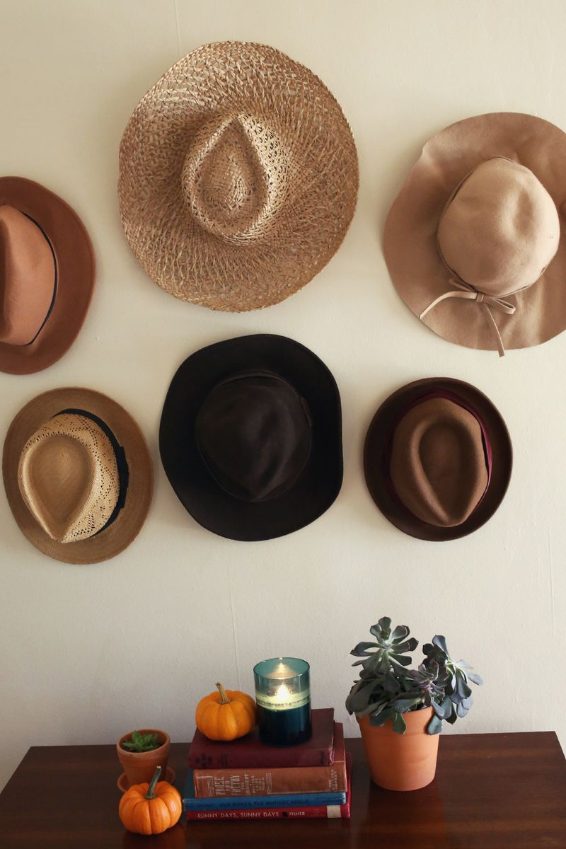 how to organize your hats for fall // www.polishedclosets.com