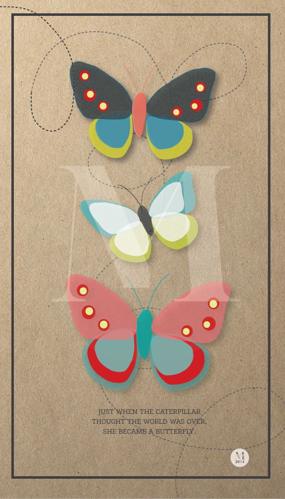 Butterfly Trio | Giclee Print