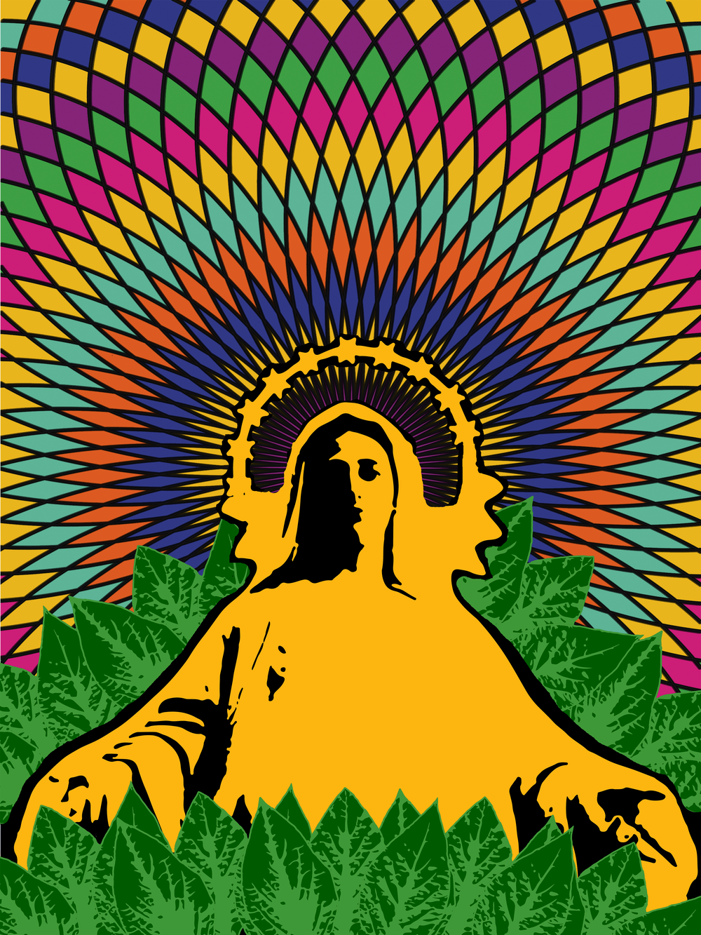 Salvia divinorum was a psychedelic used in religious ceremonies with a Christian influence. (thepsychedelicscientist.com)