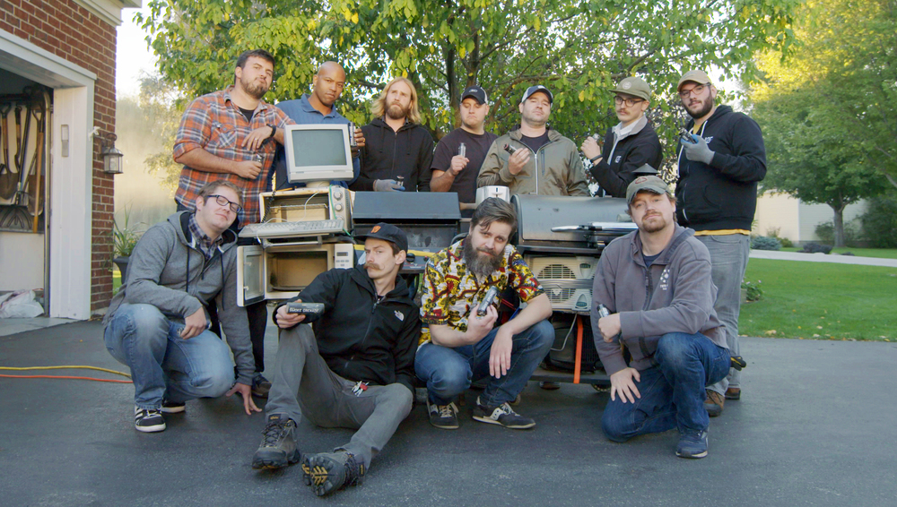 Crew wrap photo from Day 3 of 3.