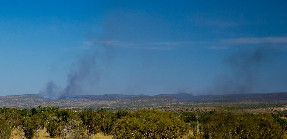 Fires coming into Kununurra