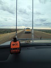 SPOT GEN 3 mounted on windscreen
