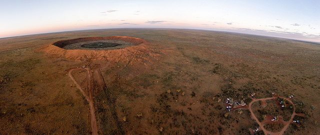 """CC licensed image""""Wolfe Creek Crater @ 100m) by sridgway"""