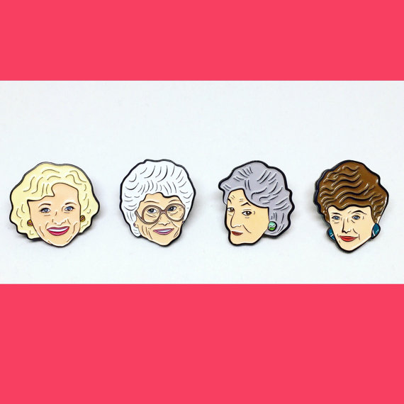 The Golden Girls Pin Pack by You Silly Duffer