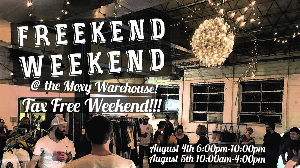 Freekend Weekend Pop-Up brings together Arkansas artisans with Little Rock food trucks for a shopping weekend that coincides with Arkansas's tax holiday