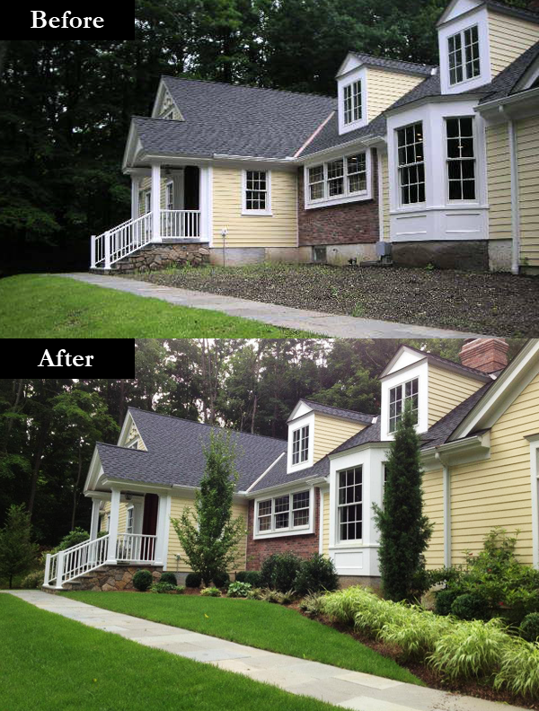 Garden Design Before And After garden design: garden design with backyard landscaping ideas