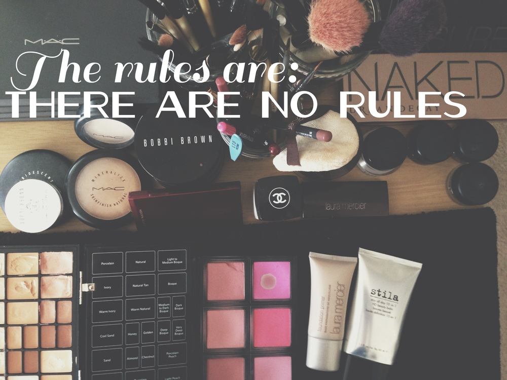 What other makeup rules have you heard and live by? Let me know in the comments below!