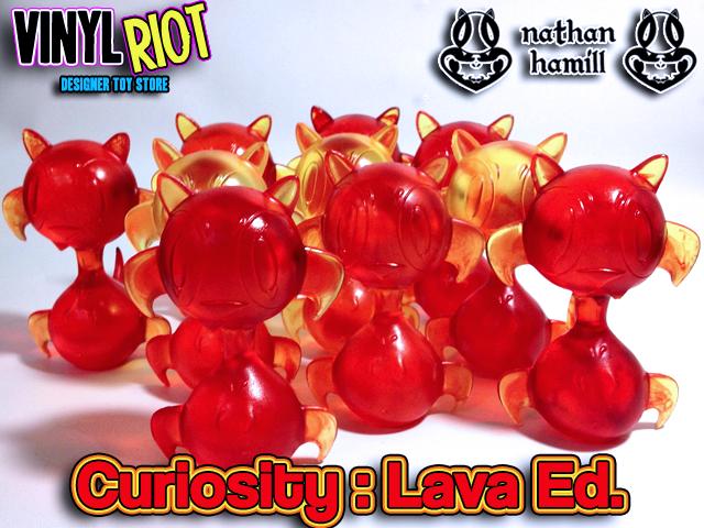Curiosity: Lava Ed.