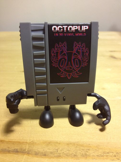 Octopup in 3D Vinyl World