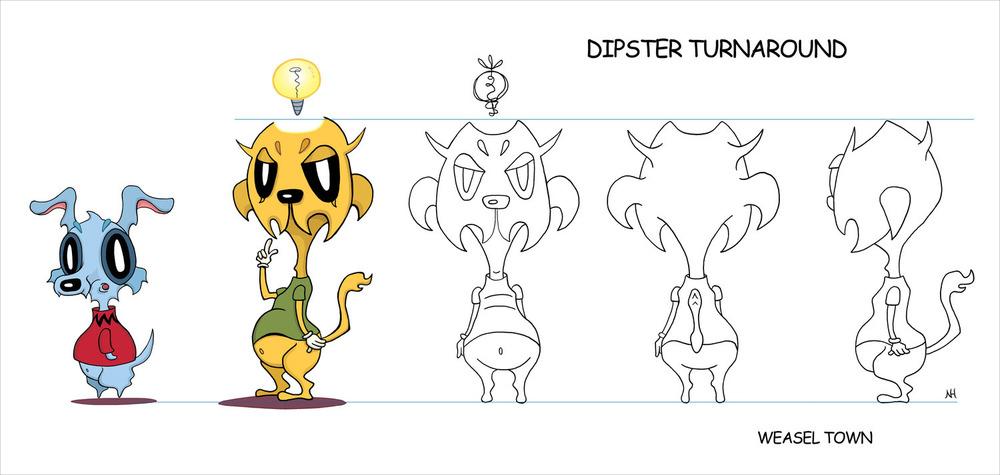 Dipster Turnaround Model