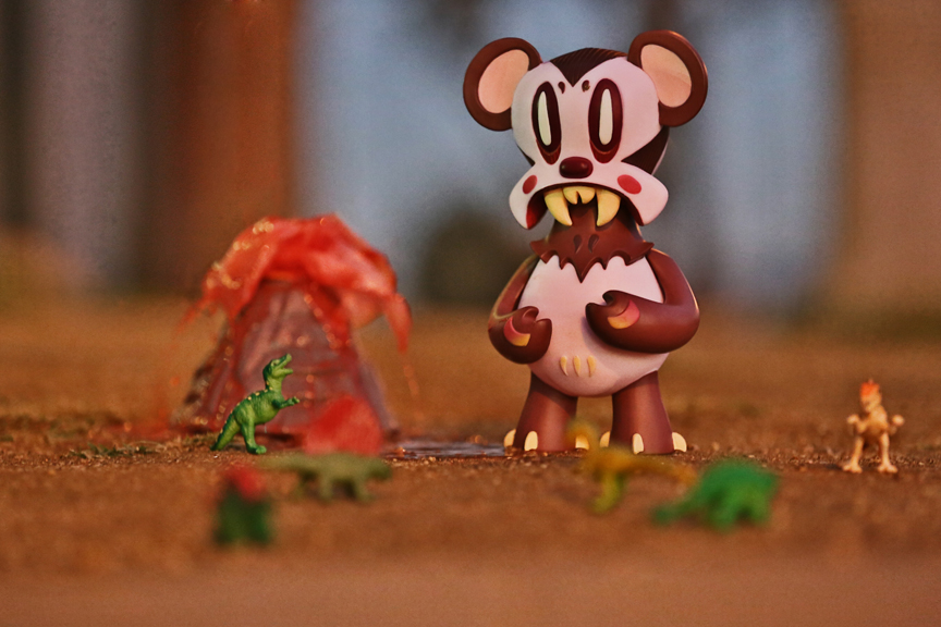 "Hey all,         Next Sat., I'm releasing my newest colorway of Lavabear...the Mammalia Ed.        Vinyl.         8 inches.         Limited to only 150 pieces.   ""Nathan Hamill and 3DRetro are proud to release the Lavabear, the artists latest, limited, vinyl figure. Standing 8 inches tall this figure was first introduced at SDCC and now locals can get their hands on the original version of this figure.  Nathan will be on hand to sign the figure, prints and guests are welcome to the food trucks, special ""lava"" floats (drinks) and other goodies!""   Saturday, October 4 7:00pm - 10:00pm 3DRetro 1851 Victory Blvd, Glendale, California 91201 https://www.3dretro.com"
