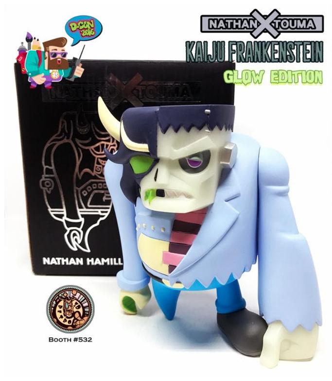 Kaiju Frankenstein: Glow Edition by Nathan Hamill X Touma