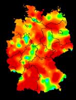 Häufigkeit der Erkrankungen Ende Februar 2015