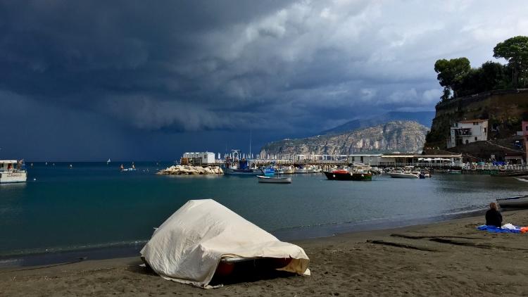 Südlich von Neapel an der Amalfiküste.