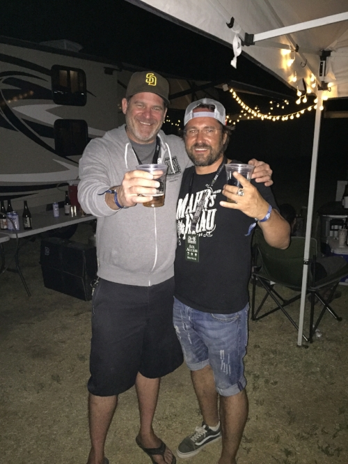 Jeff and Stephan at the Firestone Walker Invitational in 2015