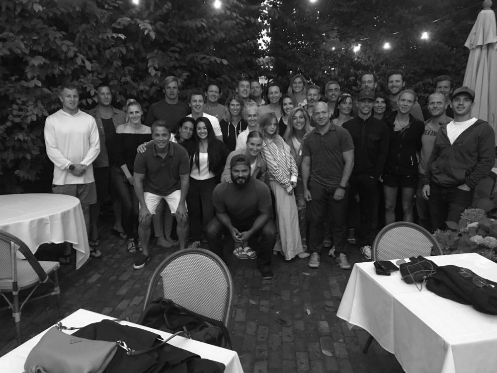 Dinner with the XPT life Montauk Crew with Tim Ferris Gabby Reece and Laird Hamilton