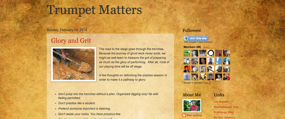 Trumpet Matters Blog