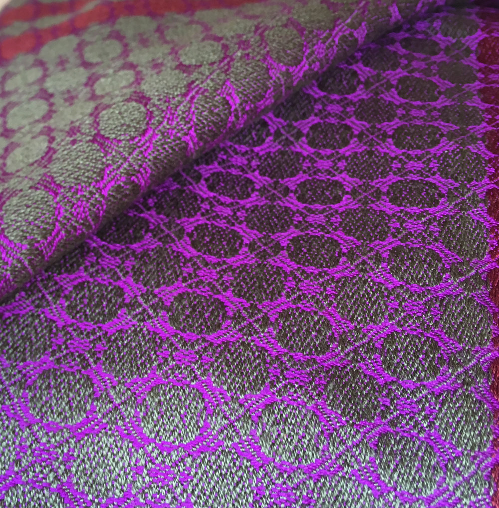 KillineyHill_Brendanjoseph_purple&green_silkscarf