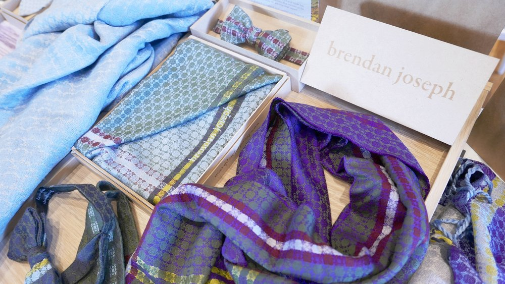brendanjoseph_product_display_blue_green_purple_silk_scarves