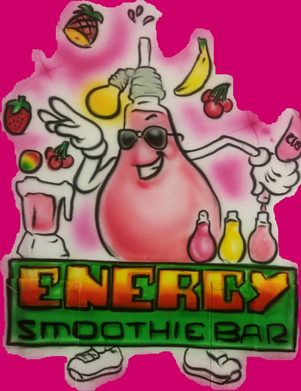 - Energy Smoothie Bar serves ice cold all natural smoothies and juices that were a hit this past year!