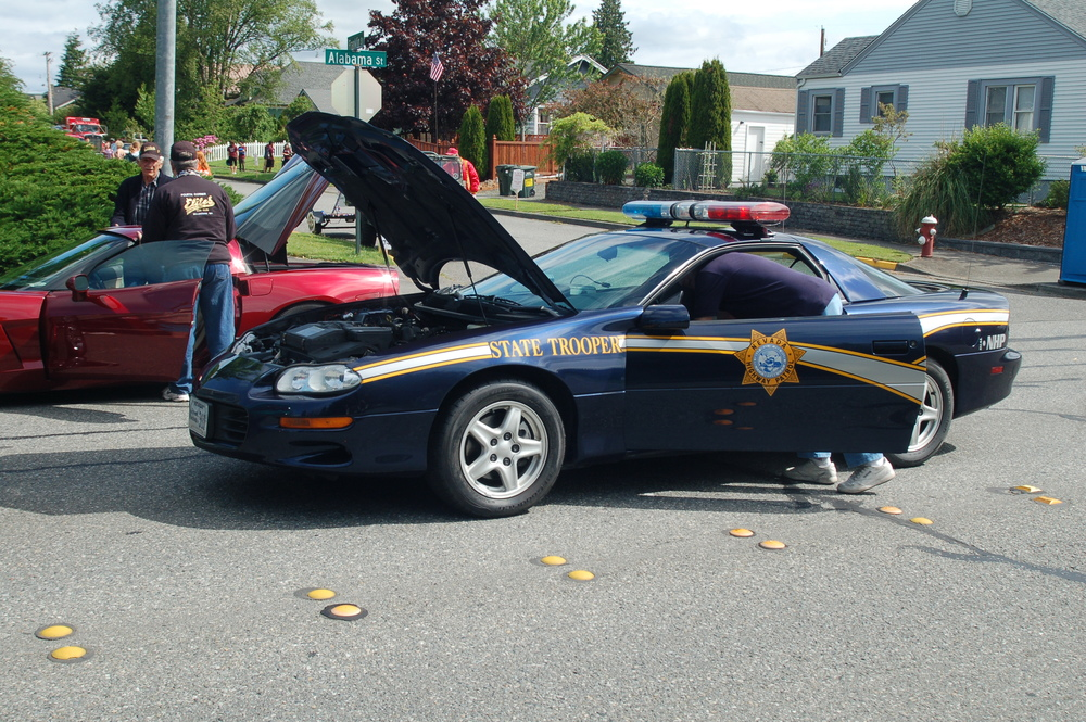 Clayton George Cop Car.JPG