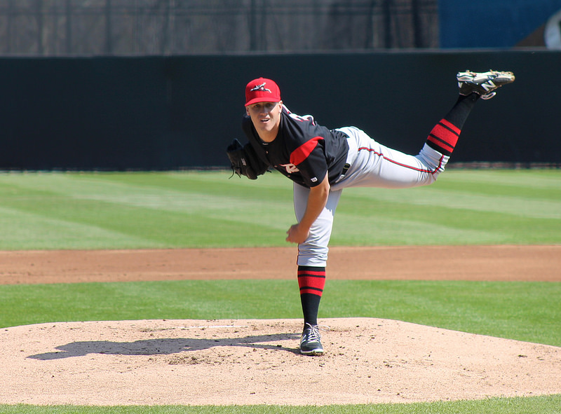 Richmond Flying Squirrels left-hander Ty Blach. (Photo by Lauren Crown)