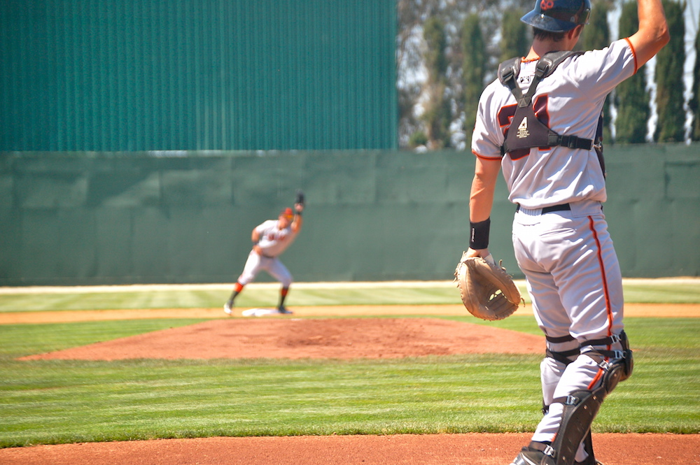 Through the first 30 games of the minor league season, San Francisco Giants affiliated teams have the highest caught-stealing percentage in all of baseball. (Conner Penfold/Giant Potential)