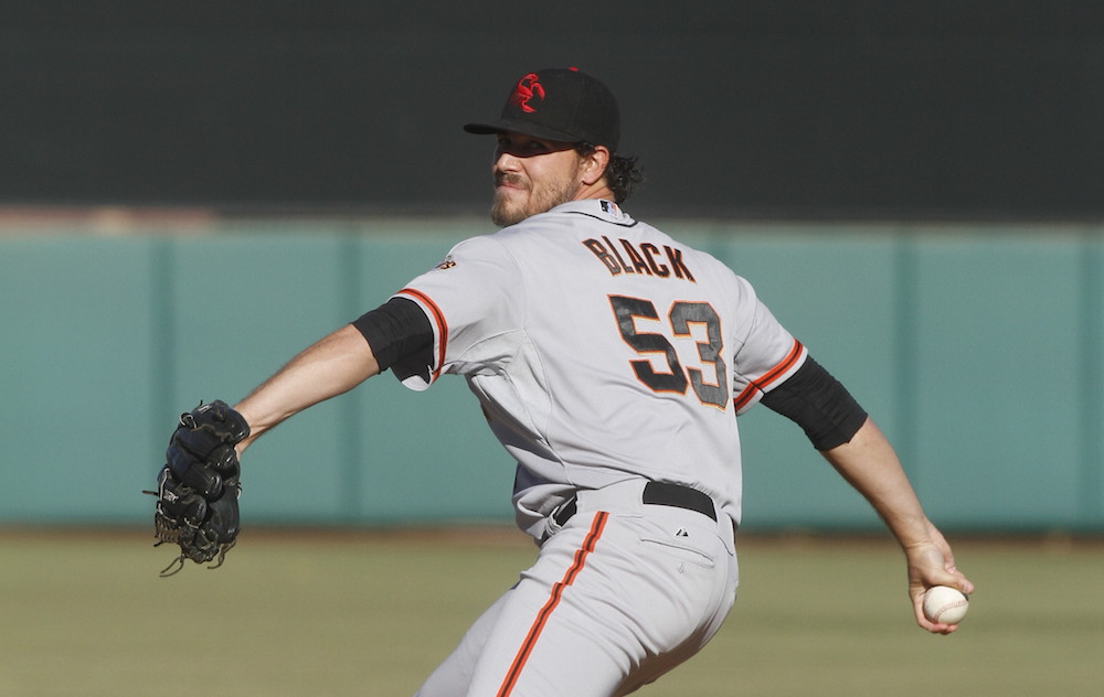 Ray Black was one of four San Francisco Giants minor league pitchers sent to Scottsdale, Ariz. for the Arizona Fall League in 2015. (Jason Wise/MiLB.com)