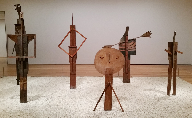Picasso Sculpture Exhibit (photo by Kali Brown)