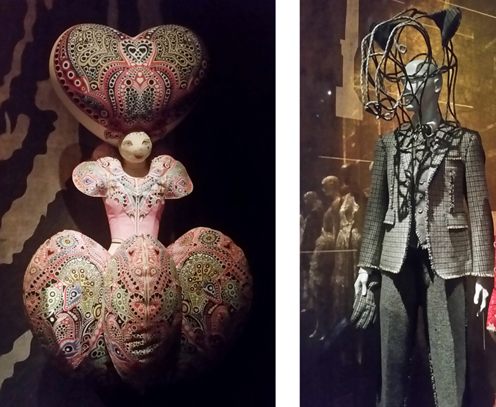 (l to r) The Queen of Hearts, Hideki Seo; The Bear Prince, Thom Browne