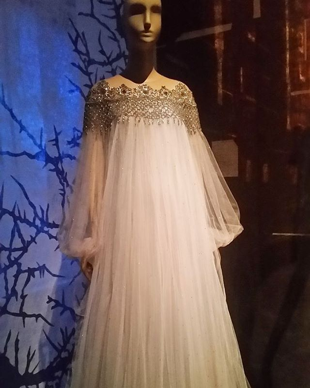 Pardon me while I have a fashion moment. Finally had a chance to see the  #FairyTaleFashion exhibit at @museumatfit AMAZING!!!! Check out the link in the bio for more details and pics. Exhibit ends April 16th.  #Costumes #Fashion #Gowns #Couture  #FairyTales #marchesa #sleepingbeauty