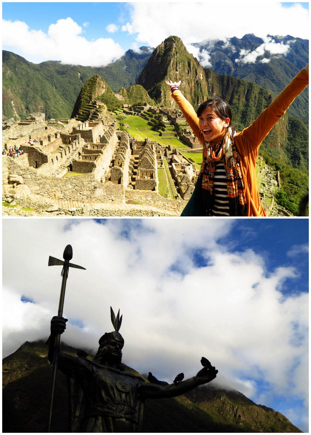 I made it to Machu Picchu!