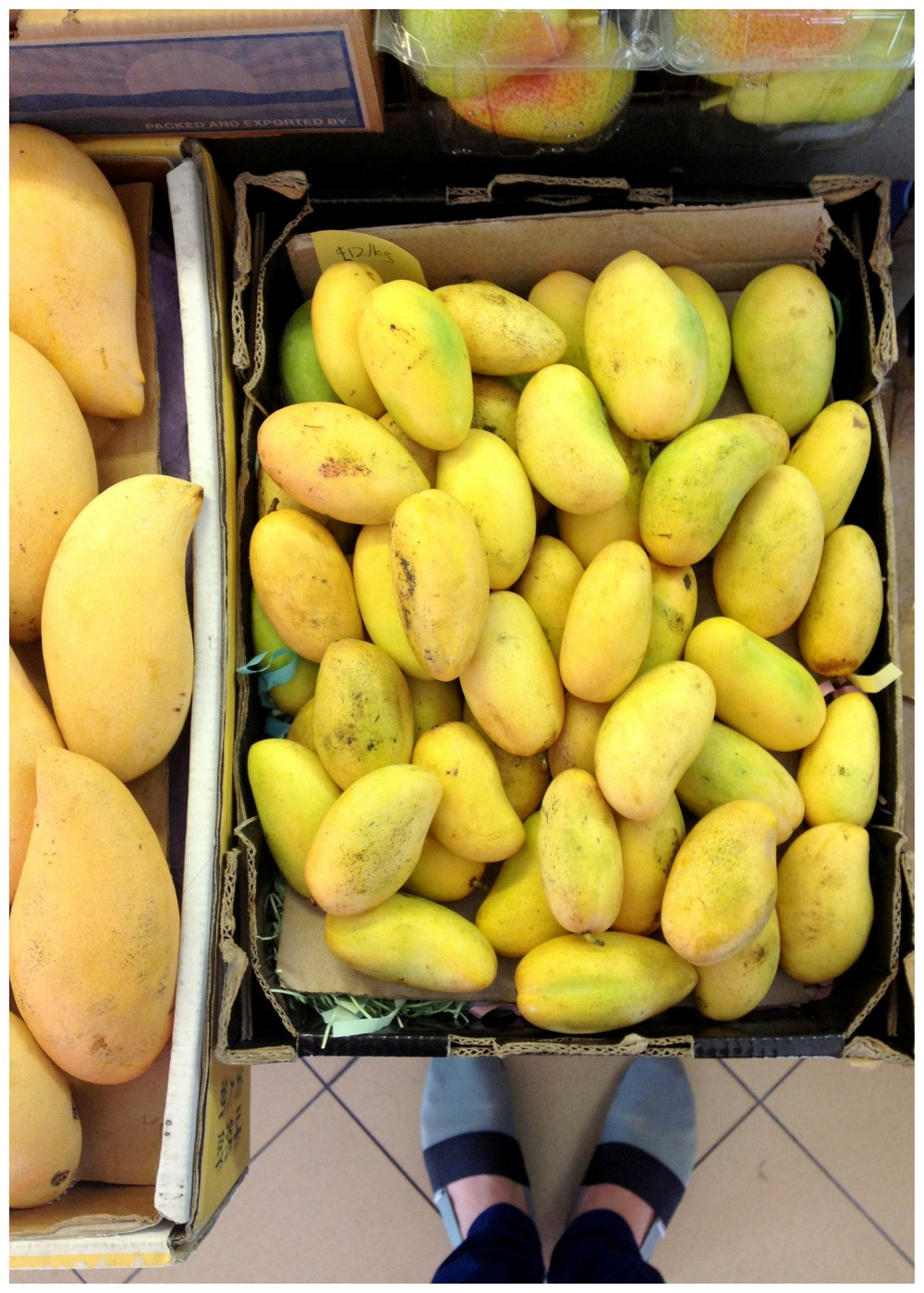 Mini mangoes!