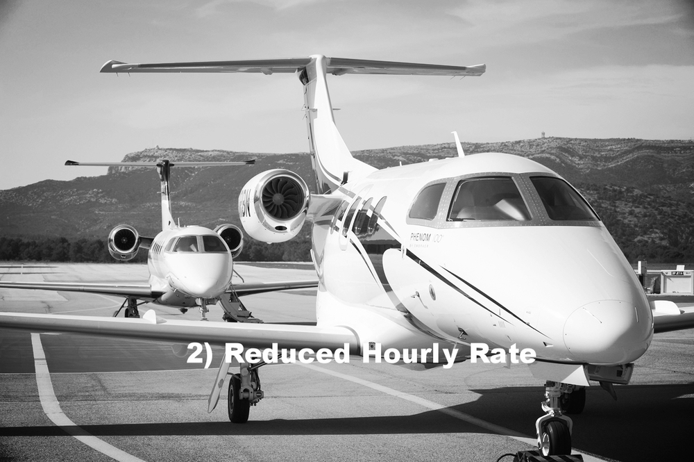 2) Reduced Hourly Rate