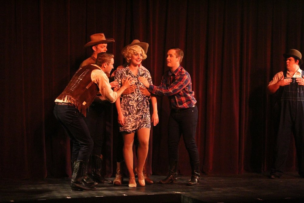 AS PATSY IN CRAZY FOR YOU AT POST PLAYHOUSE