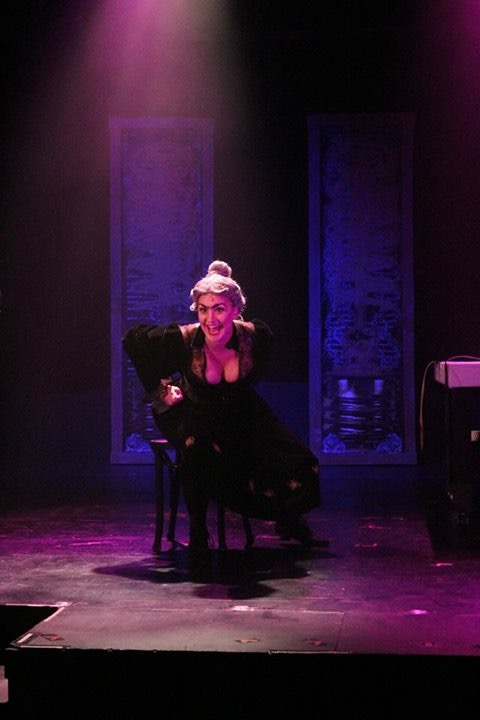 AS FRAU BLUCHER IN YOUNG FRANKENSTEIN