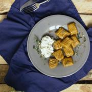 Gnocchi z batatów z palonym masłem, tymiankiem i ricottą