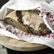Czarny chleb (na zakwasie)