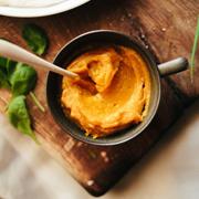 Szybka pasta z dyni (w śniadaniowym burrito)