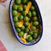 Marynowane oliwki castelvetrano