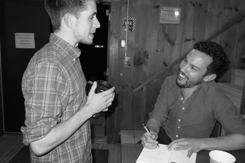 Duende  editor Cameron Price speaks with Justin Torres after his April reading from  We the Animals  at Goddard College